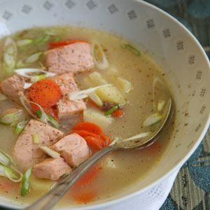 Ukha: Russian Salmon Soup