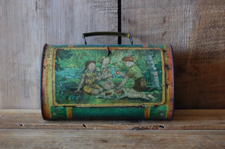 Vintage suitcase, Small tin suitcase, Tin briefcase, Old childrens suitcase, Vintage storage box, Mini luggage suitcase, Vintage storage by TallinnVintage on Etsy https://www.etsy.com/listing/449413340/vintage-suitcase-small-tin-suitcase-tin