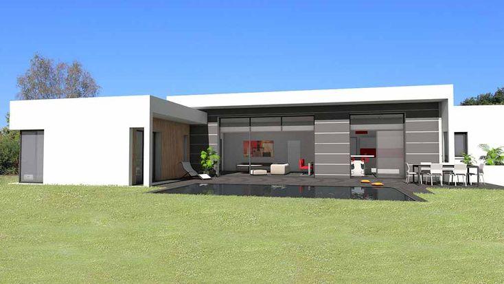 les 75 meilleures images du tableau maison sur pinterest projet maison maisons contemporaines. Black Bedroom Furniture Sets. Home Design Ideas