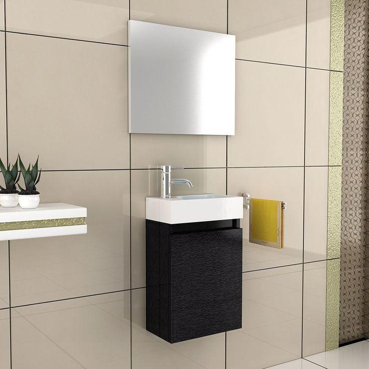 75 besten KLEINES Bad Bilder auf Pinterest Badezimmer, Gast und - badezimmer waschtisch mit unterschrank