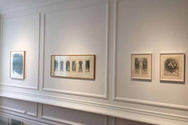 Drawings from the early 1960's by Sonia Gechtoff on view at Anders Wahlstedt Fine Art