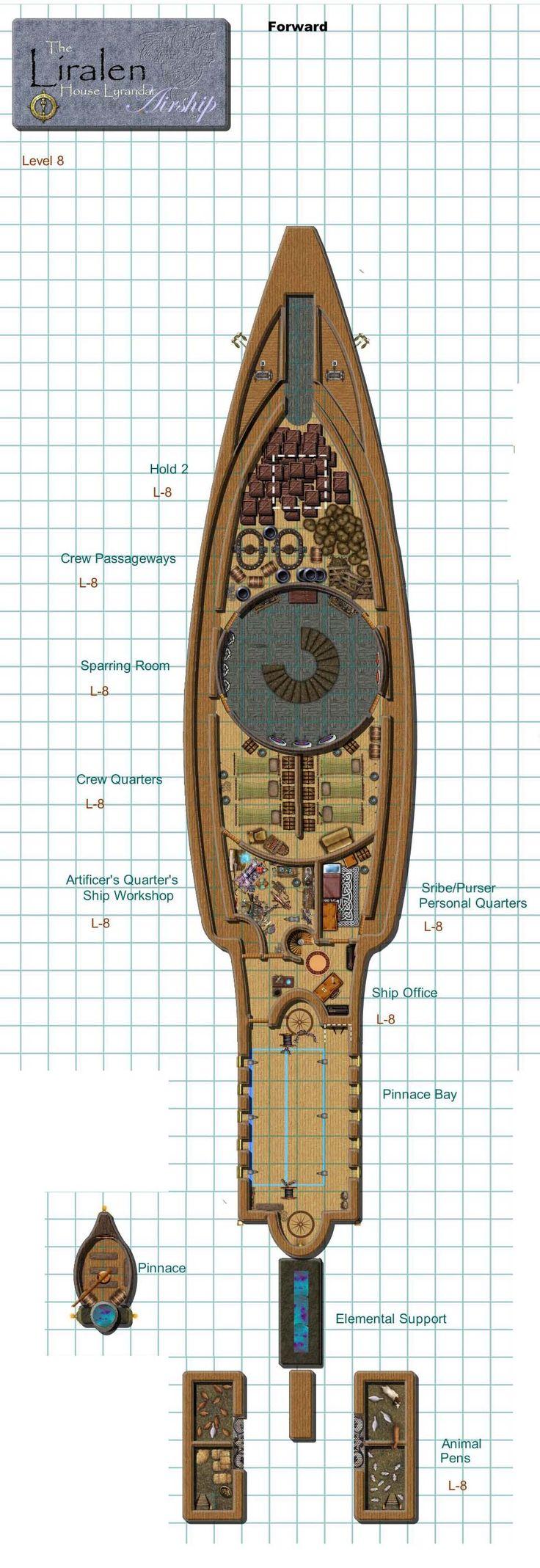 Dundjinni Mapping Software - Forums: House Lyrandar Airship