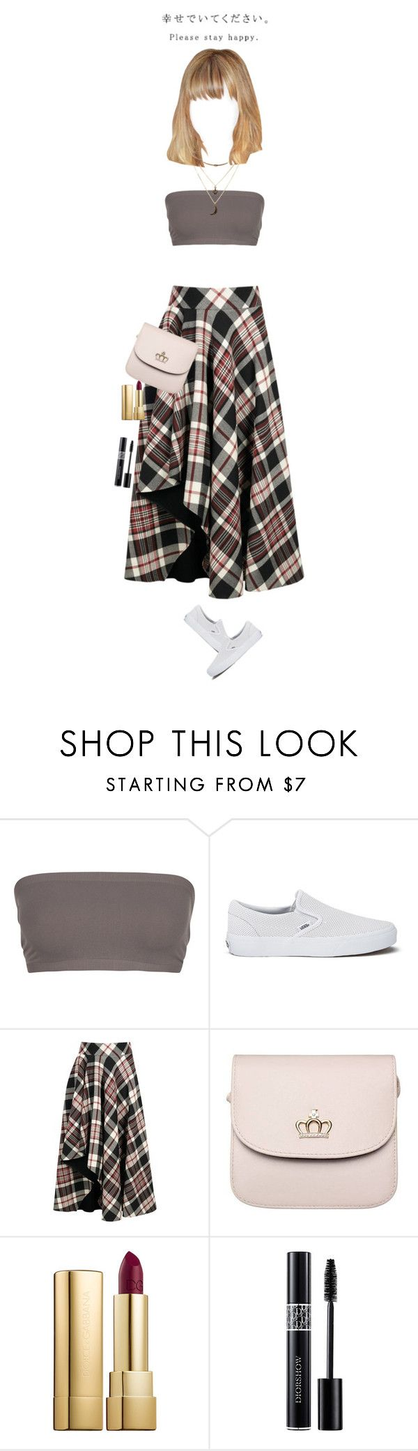 """""""Hipster-ish Day"""" by luxury-kamar ❤ liked on Polyvore featuring Full Tilt, Vans, Alexander McQueen, Dolce&Gabbana, Christian Dior and Charlotte Russe"""