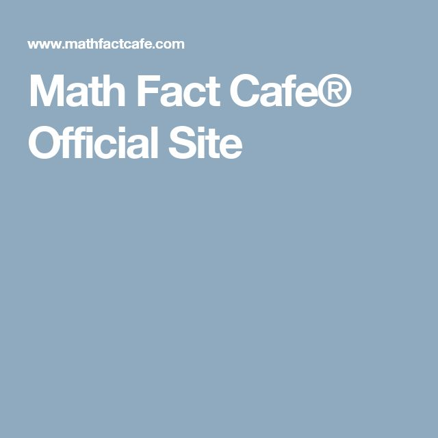 17 Best images about Maths SEN on Pinterest   Logos, Math facts and ...