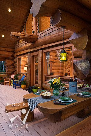 les 25 meilleures images du tableau pioneer log homes sur pinterest maisons en bois cabanes. Black Bedroom Furniture Sets. Home Design Ideas