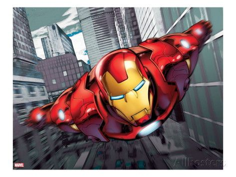 Iron Man Flying Prints at AllPosters.com