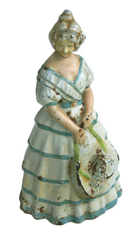 I woudl so love to have this beautiful Antique Lady Doorstop. Find this Pin  and more on Cast Iron Doorstops ... - 143 Best Cast Iron Doorstops Images On Pinterest Door Stop