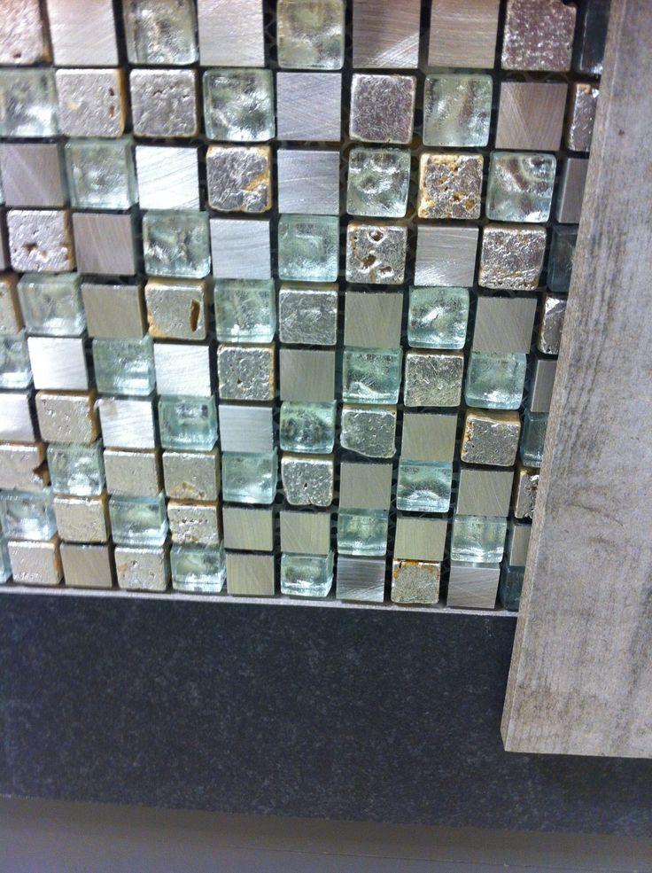 zilver mozaiek