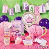 Tea Party Decorations