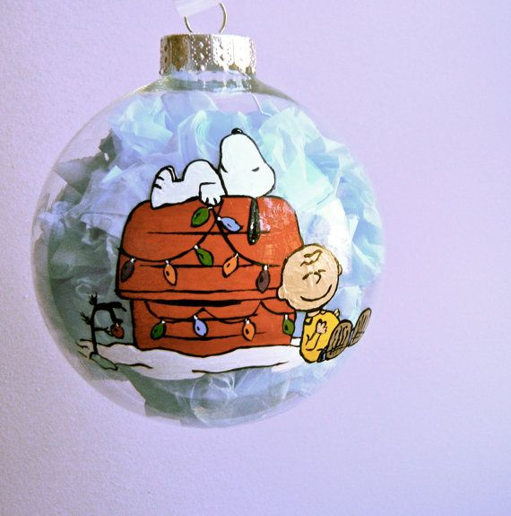 The Peanuts Charlie Brown and Snoopy Inspired by ClarityArtwork