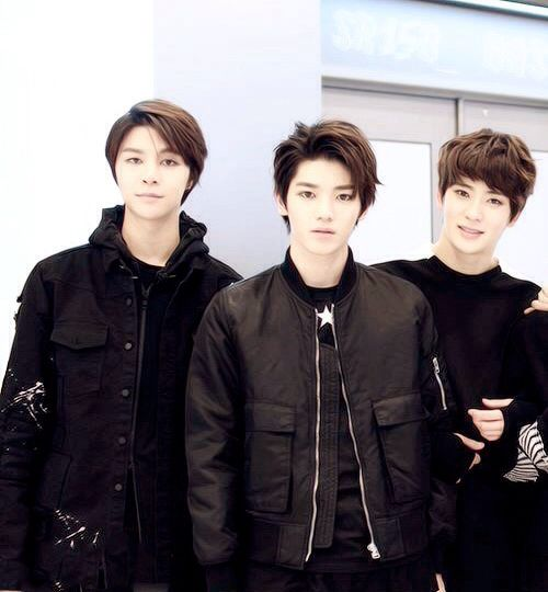 Johnny, Taeyong and Jaehyun  #SMROOKIES