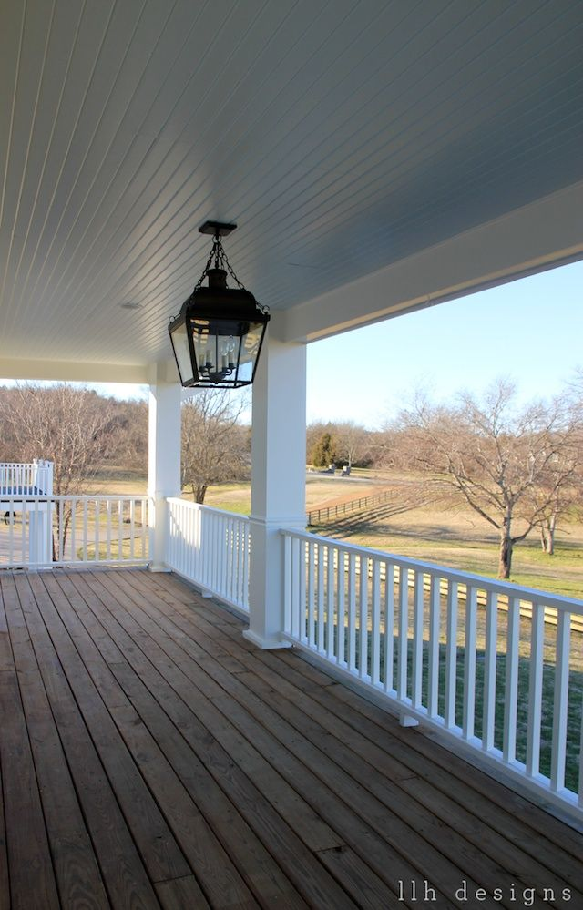And this right here is why I love wrap porches & country views! I want this so badly on my house!