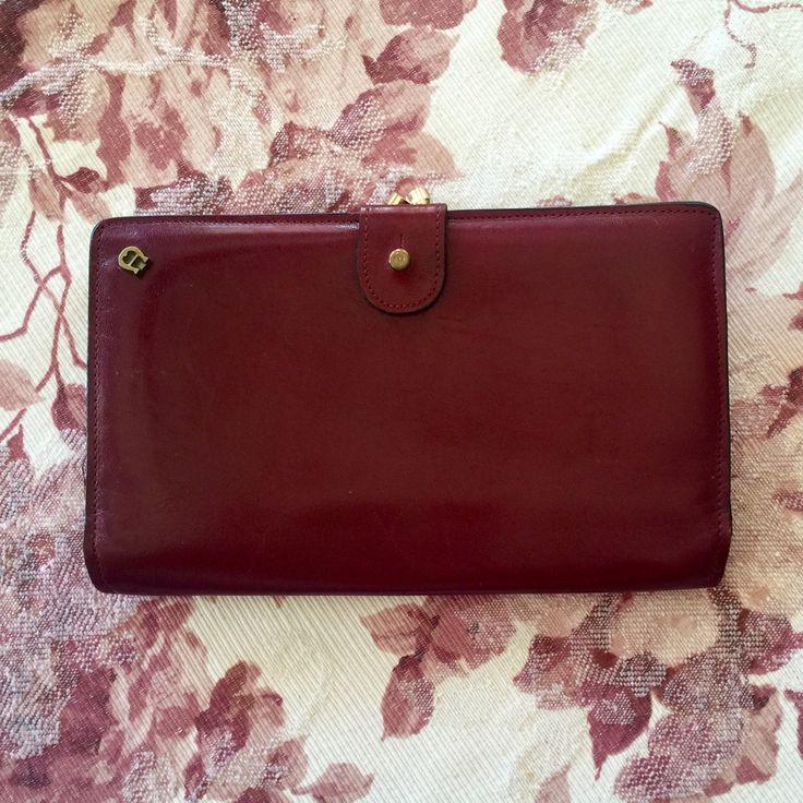 Vintage 1970s Etienne Aigner Travel Passport Wallet Oxblood Leather by IveGoneModVintage on Etsy
