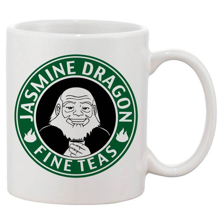Avatar Jasmine Dragon Tea White 11 oz. Printing Ceramic Coffee Mug. ITEM DESCRIPTION Design is printed on mug 11oz mug Material : Ceramic Color : White Dishwasher and Microwave safe Both cold and hot