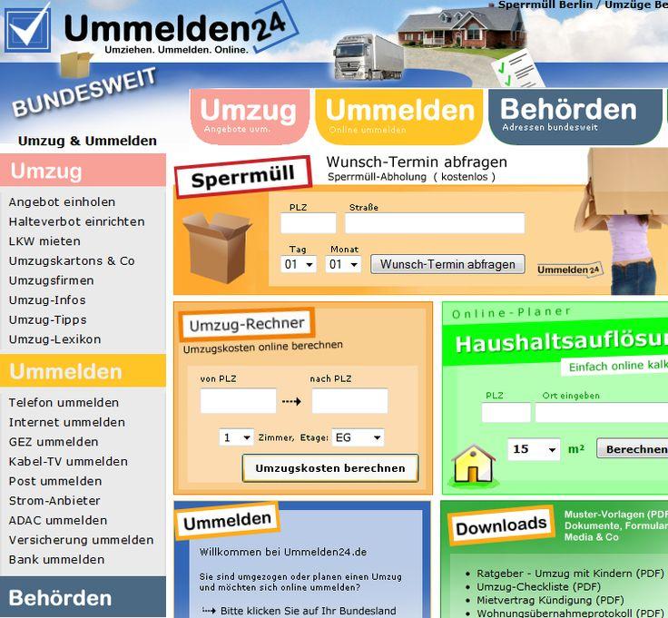 Das Portal Ummelden24.de wurde 2007 von Rami Media entwickelt - völlig individuell nach Kundenwunsch mit vielen damals neuen Features. Lange Zeit war das Portal neben dem Mitbewerber Umzug-Easy (ImmobilienScout24) die erste Anlaufstelle für Umzüge, Ummeldungen & alles, was mit dem Wohnungswechsel zu tun hat.  Mehr von Rami: http://fb.rami-media.de