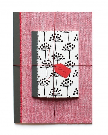 Fabric-Covered Notebooks