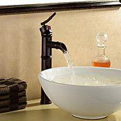 olie gewreven brons centerset badkamer wastaf... – EUR € 74.24