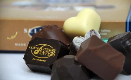 House of Anvers, Anvers Chocolate, Latrobe Tasmania