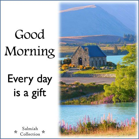 Salmiah Collection: Good Morning Wish 30: Every day is a gift
