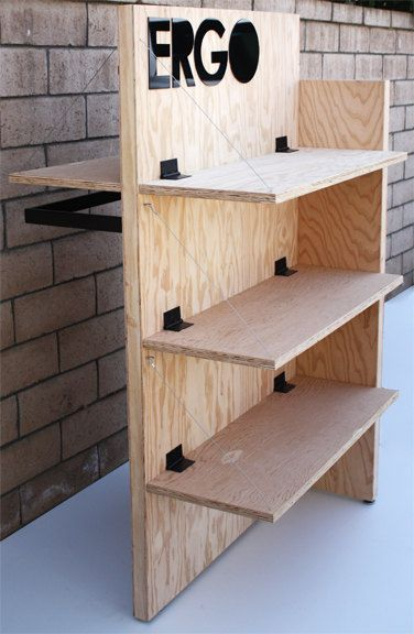 Portable Exhibition Shelves : Best ideas about market displays on pinterest booth