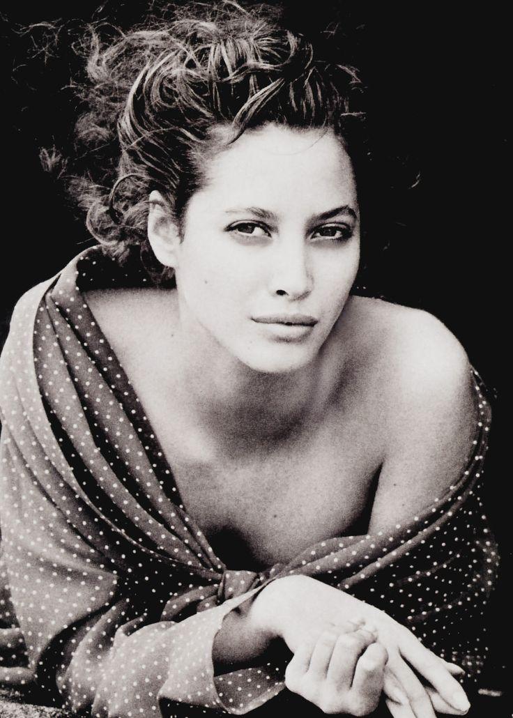 Vogue UK October 1988. Model: Christy Turlington. Photographer: Peter Lindbergh