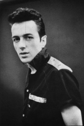 Joe Strummer. Punk rock warlord.