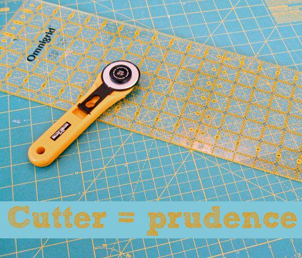 12 astuces à connaître pour utiliser un cutter rotatif……réepinglé par Maurie Daboux ⊰✿