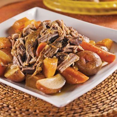 Épaule de porc braisée à la mélasse - Recettes - Cuisine et nutrition - Pratico Pratiques