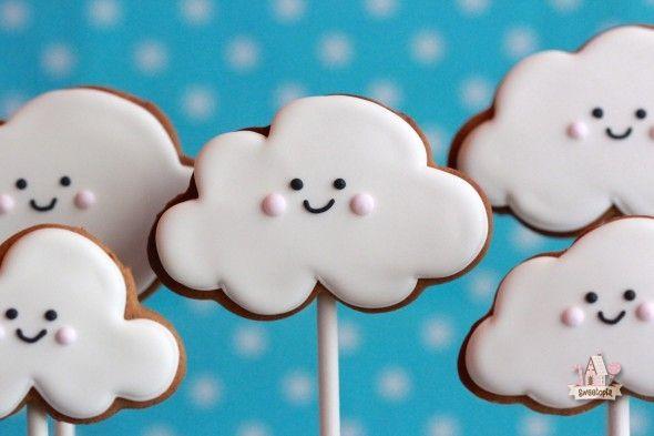 Cinnamon Molasses Cookie Recipe and Cloud Cookie Tutorial | Sweetopia