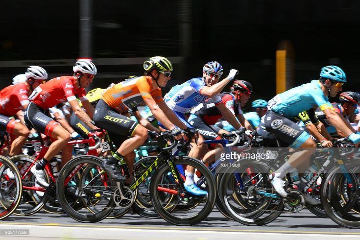 #TDU #seesouthaustralia #uciworldtour 20th Santos Tour Down Under 2018 / Stage 6 Daryl IMPEY (RSA) Orange Leader Jersey / King William Street, Adelaide - King William Street, Adelaide (90km) / Men / TDU /