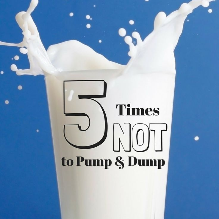 5 times you were told to pump and dump when you (probably) didn't need to. #breastfeeding #pumping #pumpanddump --Mainstay Doulas & Co.-- MainstayDoulas.com