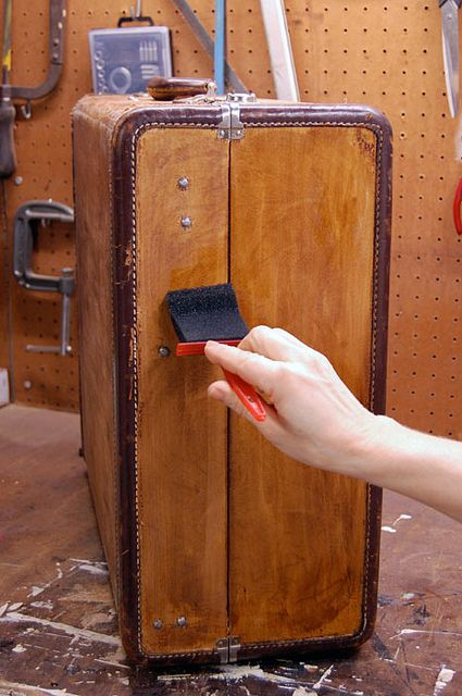 staining-suitcase by The Art of Doing Stuff, via Flickr