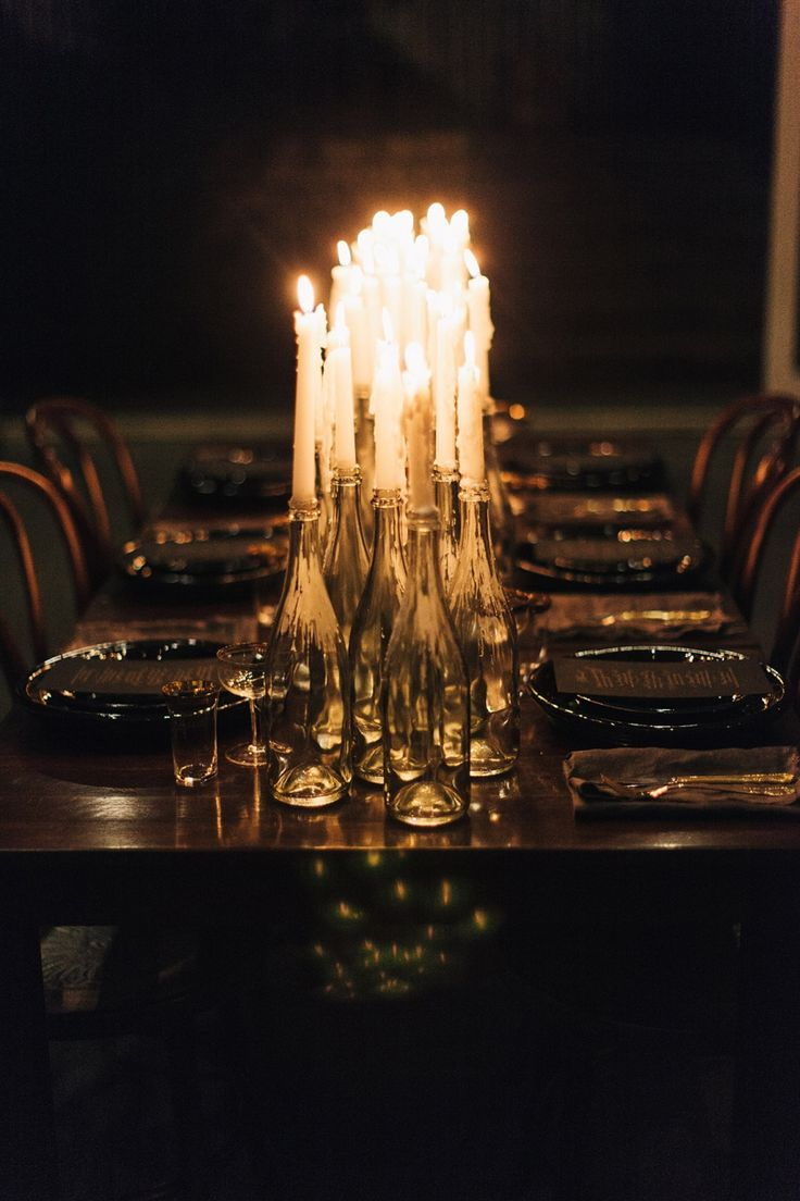 Rustic Twilight Elegance / Wedding Style Inspiration / LANE