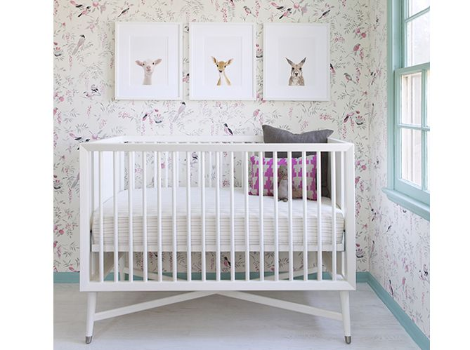 Chambre b b fille berceau chambres d 39 enfants kids rooms pinter - Pinterest chambre bebe ...
