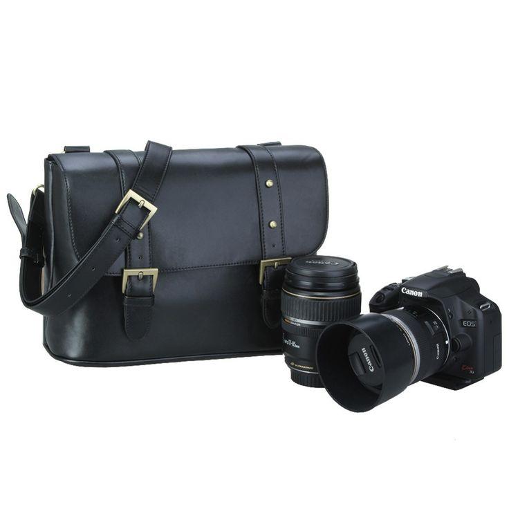 Aliexpress.com: Comprar 2016 nueva Koolertron la PU DSLR SLR Camera cámara a prueba de agua caja del bolso del hombro del bolso del mensajero cámaras para Canon eos, sj4000 de cámara de edición fiable proveedores en Shenzhen koolertron Co.,Ltd.