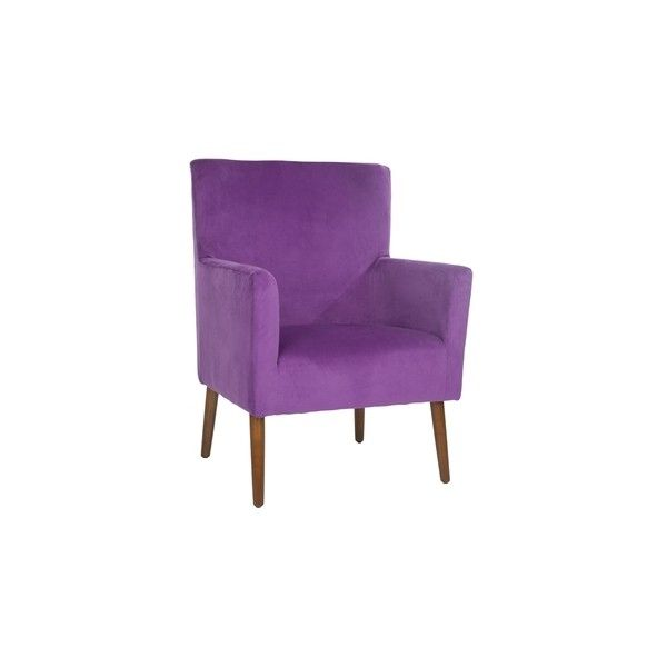 Safavieh Retro Purple Velvet Blend Club Chair ($328) ❤ liked on Polyvore featuring home, furniture, chairs, accent chairs, safavieh club chair, velvet accent chair, safavieh chairs, safavieh home furniture and retro furniture