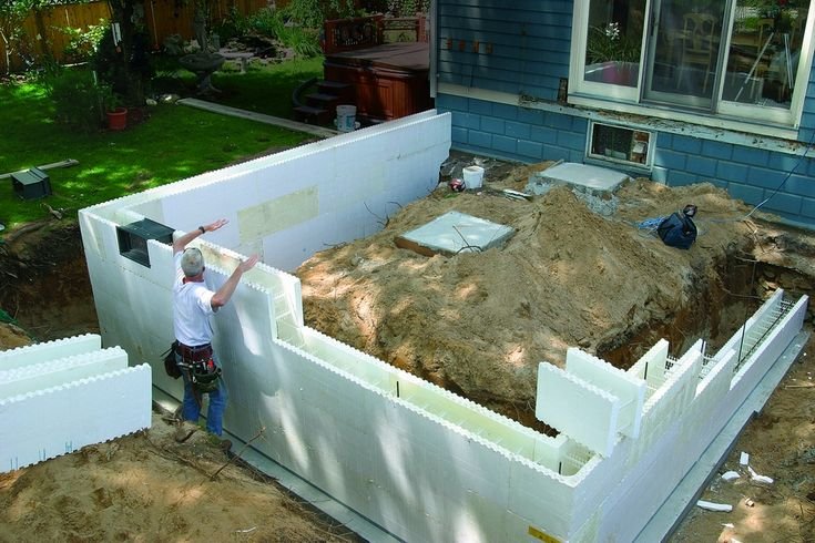 17 best images about insulated concrete forms on pinterest for Basement wall forms