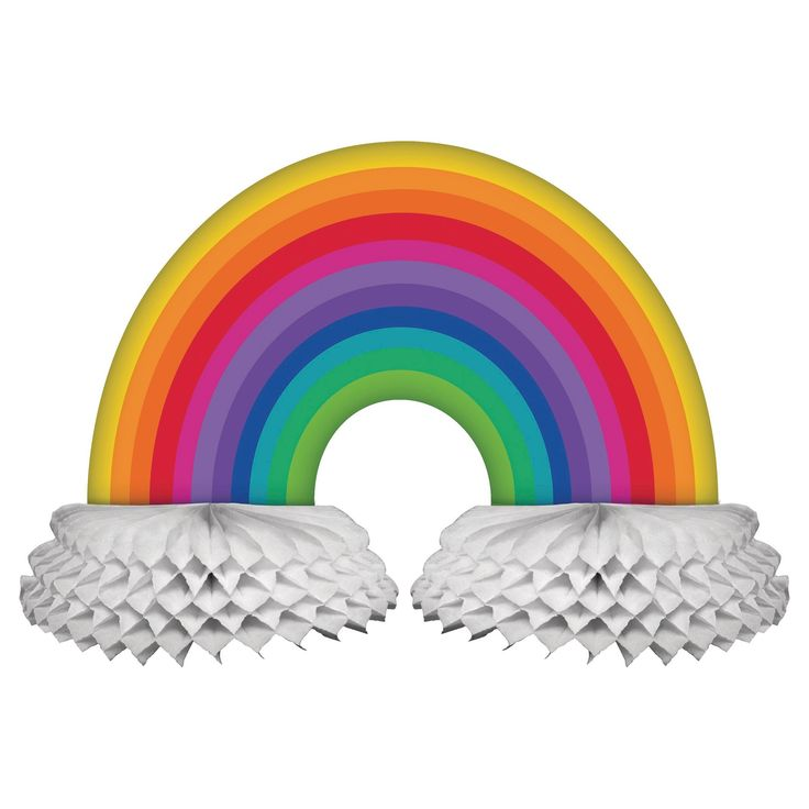 Rainbow Centerpiece, Party Centerpiece