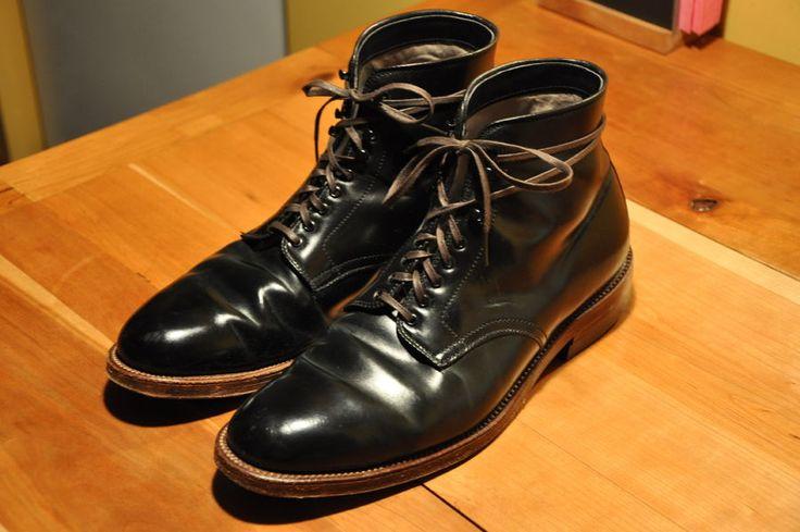 Alden Pitt Boots - Black Shell Cordovan