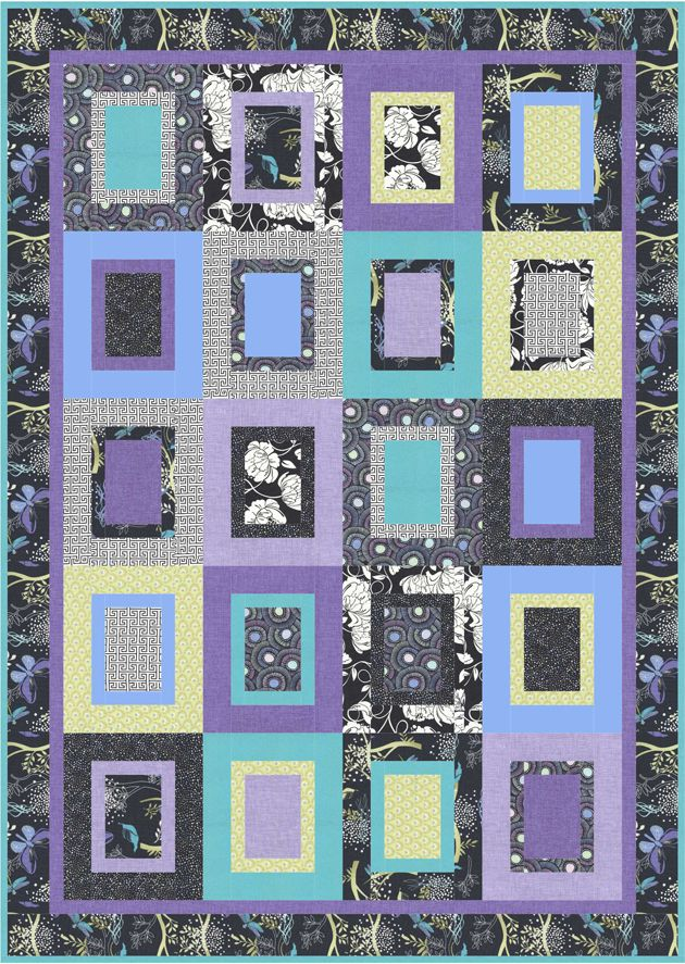 Modern Patchwork Quilt Patterns Free : 952 best MODERN QUILT PATTERNS images on Pinterest The o jays, Nancy zieman and Block of the month