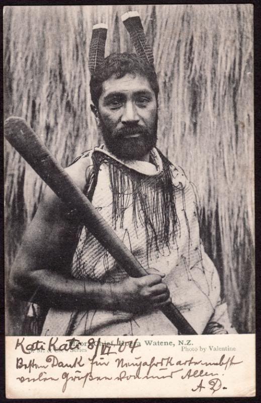 maori chief, watene