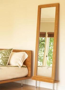 Muir Reclaimed Mirror + Floor Stand | Amenity Home Home Design Ideas