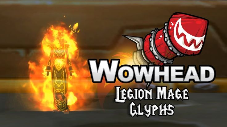 Legion Mage Glyphs - YouTube