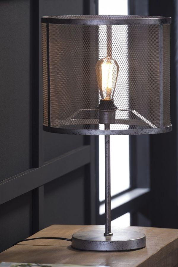 Tischlampe Raster Tischlampen Lampe Industrie Stil Lampen