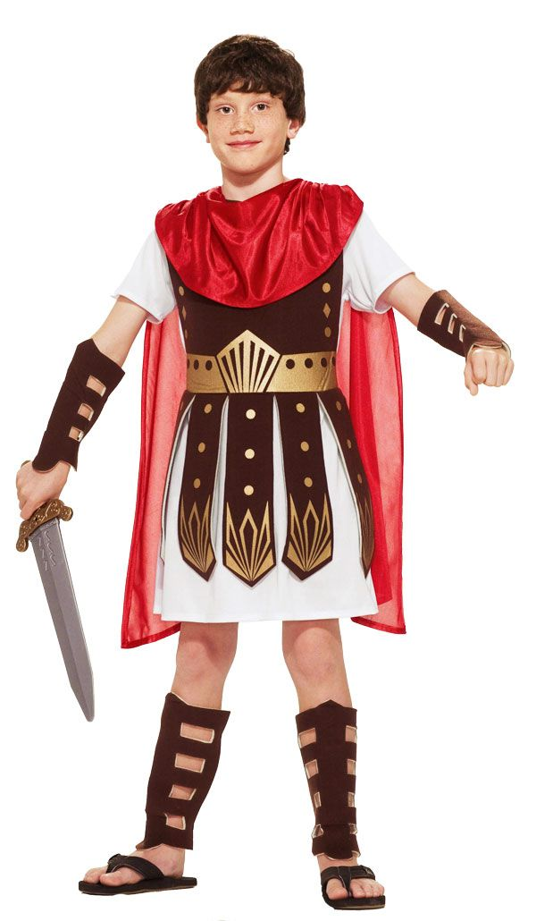 Disfraz de romano  -  roman costume child                                                                                                                                                                                 Más