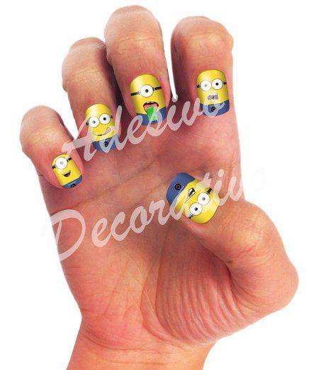 Minions nagels