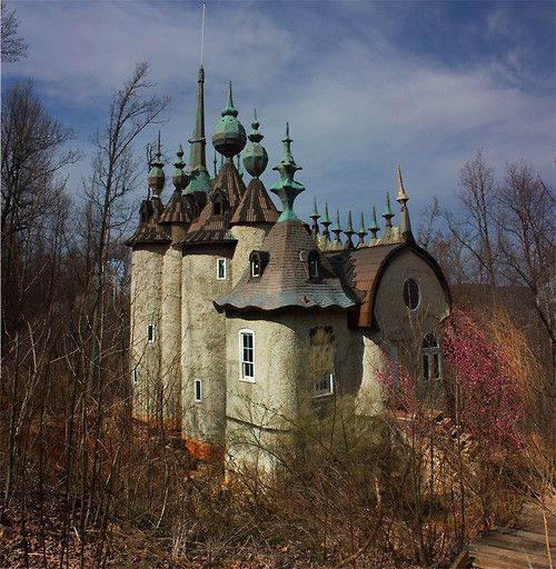 Famous Abandoned Places In California: Castle Mont Rouge In Rougemont, NC