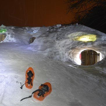 Randonnée en Raquette et Nuit en Igloo à Arvieux 05