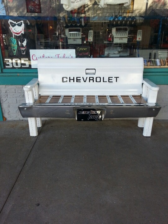 Tail gate bench - DONE!