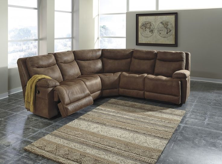 Reclining Sectional By Signature Design By Ashley. Get Your Valto 5 Pc.  Reclining Sectional At Railway Freight Furniture, Albany GA Furniture Store.